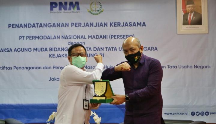PNM Tanda Tangani Kerja Sama dengan Kejaksaan Agung