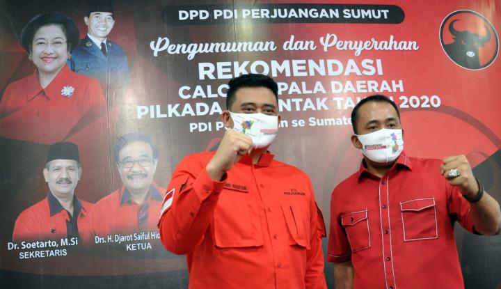 Nasdem Resmi Dukung Menantu Jokowi di Pilwalkot Medan