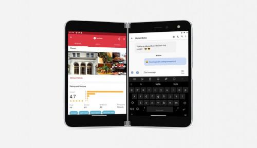 Microsoft Mau Rilis Ponsel Android Berlayar Ganda, Ini Harganya!