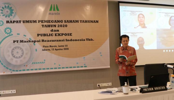 MREI Meski Kondisi Menantang, Maskapai Reasuransi Indonesia Tetap Kasih Jatah untuk Pemegang Saham