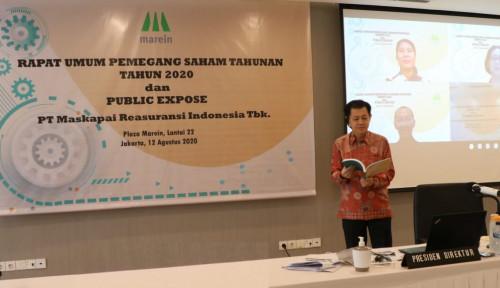 Meski Kondisi Menantang, Maskapai Reasuransi Indonesia Tetap Kasih Jatah untuk Pemegang Saham