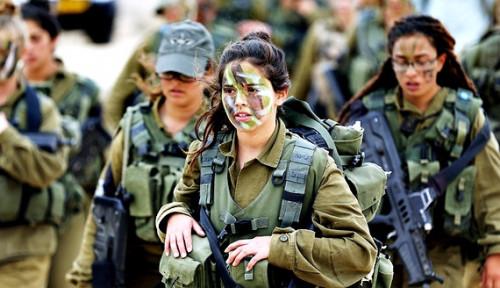 Tentara Wanita Siap Diterjunkan Militer Israel, Lawan Siapa?