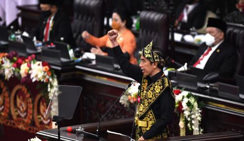 Jokowi Berapi-api: Ekonomi 2021 Diproyeksikan Tumbuh 4,5-5,5%