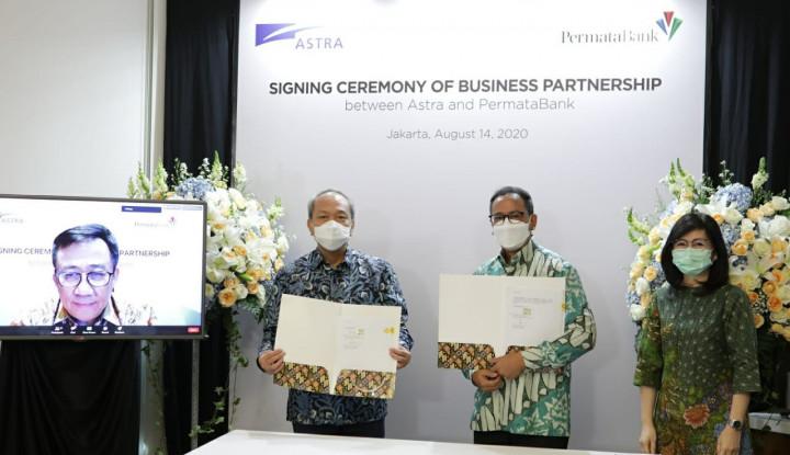 Astra International dan PermataBank Perkuat Kolaborasi Bisnis