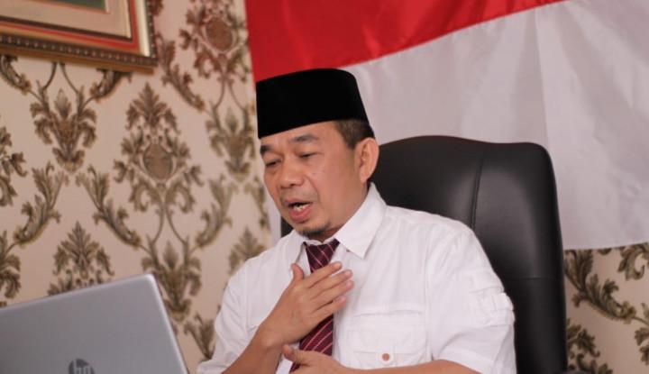 Ketua Fraksi PKS DPR RI Dapat Anugerah Anggota Kehormatan dari Perguruan Silat Red Beksi
