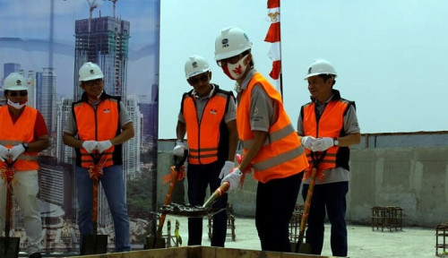 The Residences at The St Regis Jakarta Akhirnya Gelar Topping Off