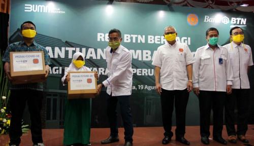 BTN & REI Bagikan Sembako ke Warga Terdampak Covid-19