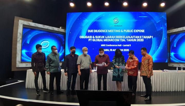 Wah! Global Mediacom Rilis Obligasi & Sukuk Ijarah Rp1 Triliun