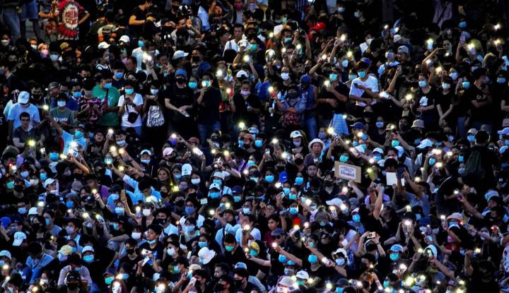Demo Terbesar Landa Thailand, Tuntutannya Gak Tanggung-tanggung