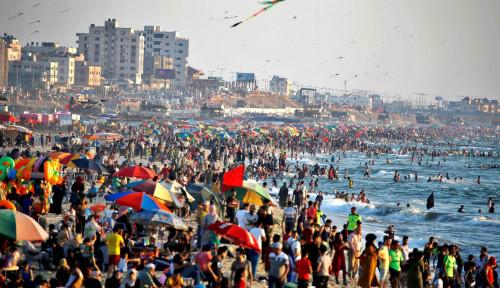 Ya Tuhan, Jumlah Pasien Covid-19 di Gaza Melonjak