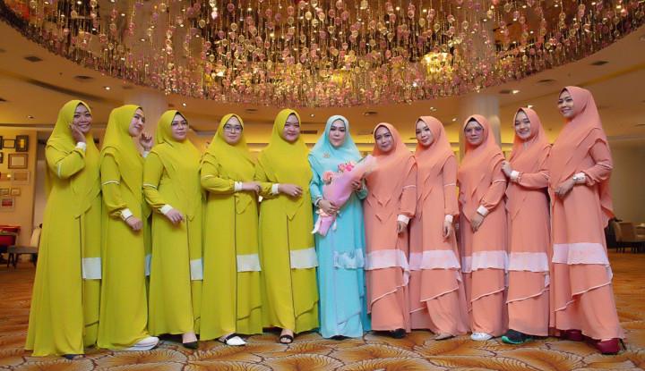 Wwiek Muslimah Roadshow dengan Reseller di Medan