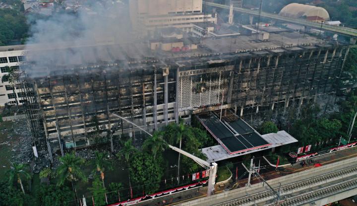 Kasus Kebakaran Gedung Kejaksaan, Polisi Sebut Akan Periksa Saksi yang Berpeluang Jadi Tersangka