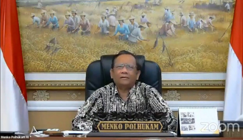 Umumkan Nasib Demokrat, Mahfud MD Cuit: SBY dan Moeldoko Sahabat Saya