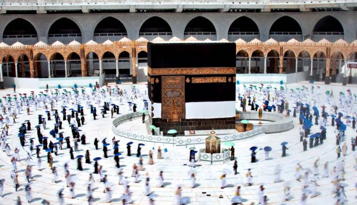 Lebih dari 1 Miliar Muslim Antre untuk Bisa Lanjutkan Umrah di Kabah