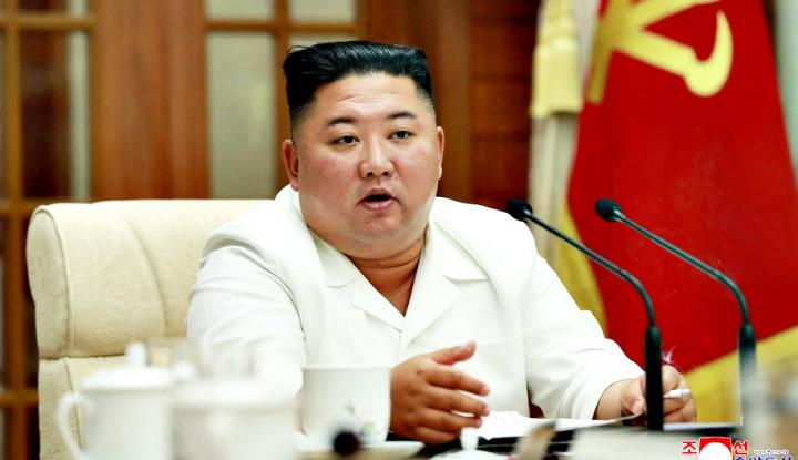 Pandemi Bikin Ekonomi Loyo, Kim Jong-un Perketat Cegah Penyebaran Covid-19