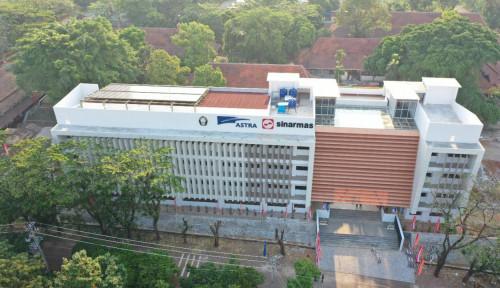 Gedung Hibah Rp30 M SV Undip dari Astra Diresmikan Jokowi