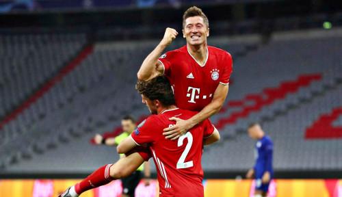 Bayern Muenchen Mutilasi Pelan-pelan Lazio dengan Sadis