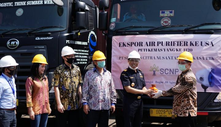 Pandemi Tak Halangi Ekspor: 5.490 pcs Air Purifier Dikirim ke AS