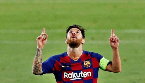 Terlihat Mampir ke Rumah Messi, Suarez Ucap Salam Perpisahan?
