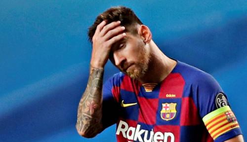 Messi Bertahan di Barcelona Karena Terpaksa, yang Benar?