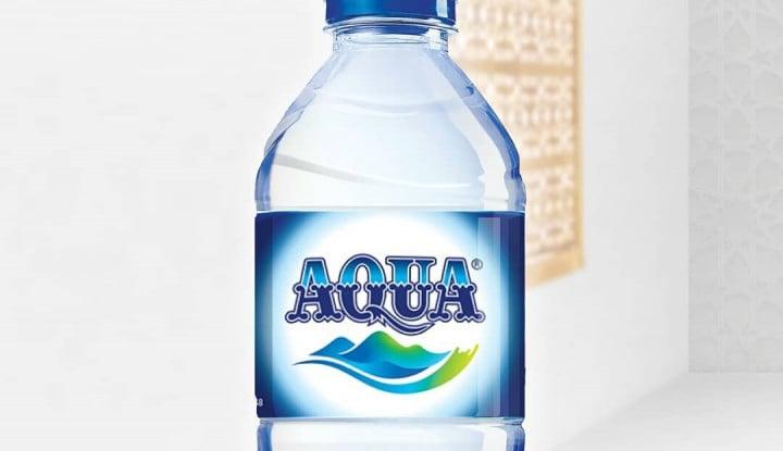 Isu Boikot Produk Prancis Seret Aqua Begini Kisah Aqua Dipinang Danone
