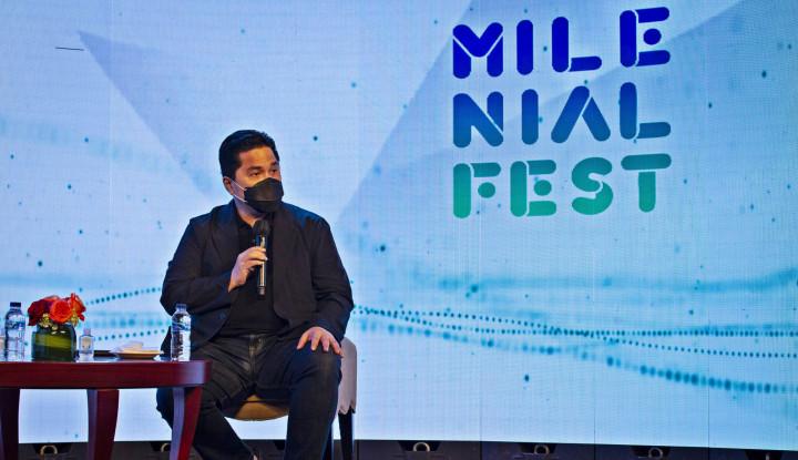 Mantap Guys, Erick Thohir Inginkan 15% Kursi Direksi BUMN untuk Generasi Millenial