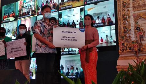 Bangkitkan UMKM, BCA Salurkan KUR di Desa Wisata Kertalangu