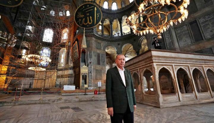 Erdogan Bergerak Tanpa Henti, Kali Ini Presiden Turki Itu Mau Perkuat Hubungan dengan Libya