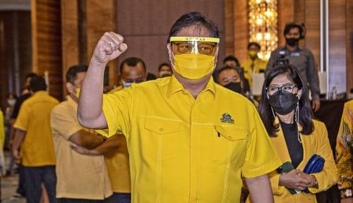 Airlangga Pastikan Golkar Setia Dukung Jokowi-Maruf Amin
