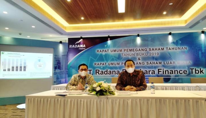 HDFA Radana Bhaskara Finance Genjot Kredit Produktif
