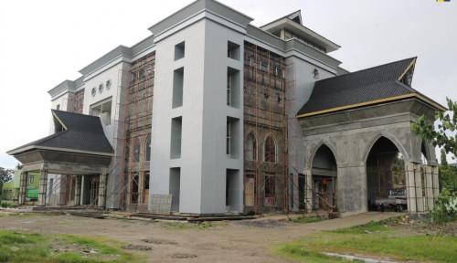 Gedung Rektorat IAIN Sultan Amai Selesai Dibangun