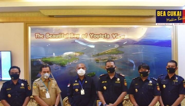 Bea Cukai & Wali Kota Jayapura Bahas Upaya Majukan Perekonomian