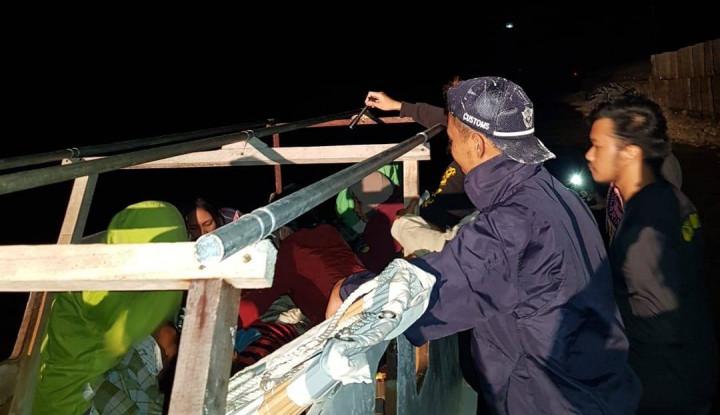Patroli Laut Bea Cukai Juga Terlibat dalam Misi Kemanusiaan