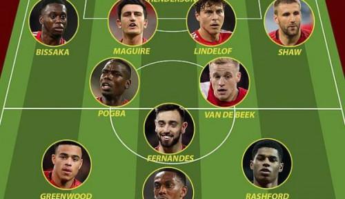 Ini Line Up Man United di Musim Depan