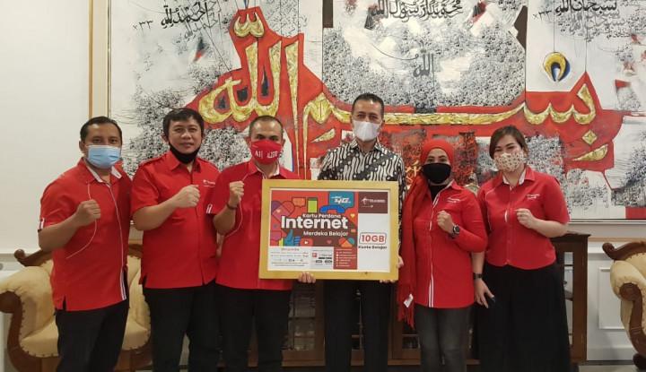 Pinta Jaga Jaringan Belajar Daring, Wagub Sumut Minta Telkomsel..