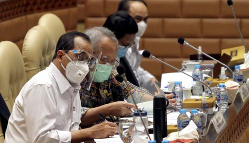 Cuma Bisa Kerja Online, Menteri Basuki Curhat ke Menhub Budi Karya