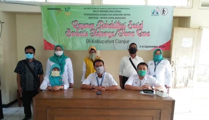 Lewat Balai Wyata Guna, Kemensos Fasilitasi Rehabilitas Sosial