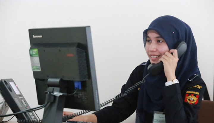 Hasil Survei Kepuasan Contact Center Bea Cukai Lampaui Target