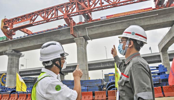 Pembangunan Kereta Cepat Jakarta-Bandung Sudah Setengah Jadi