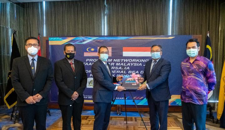 Duta Besar Malaysia Sambangi Bea Cukai RI Eratkan Kerja Sama