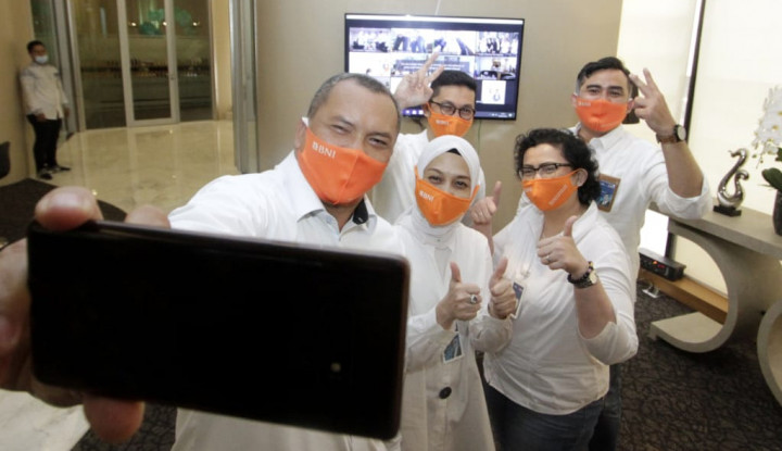 Rayakan Hapelnas di Masa Pandemi, BNI Tak Lupa Sapa Nasabah