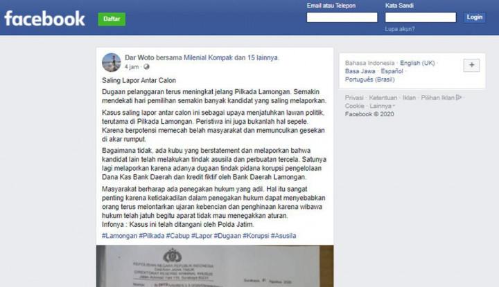 Muncul Isu Video Mesum hingga Kasus Korupsi di Pilkada Lamongan