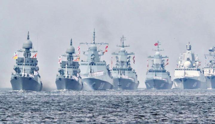 Prancis Lengket Sama Yunani, Armada Rusia Merapat ke Turki?