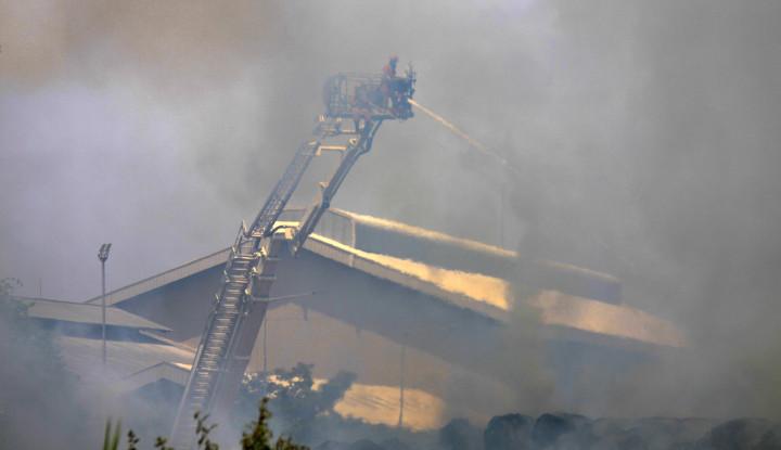 Pabrik Kertas Grup Sinarmas Terbakar, Dirut: Besar Kerugian...