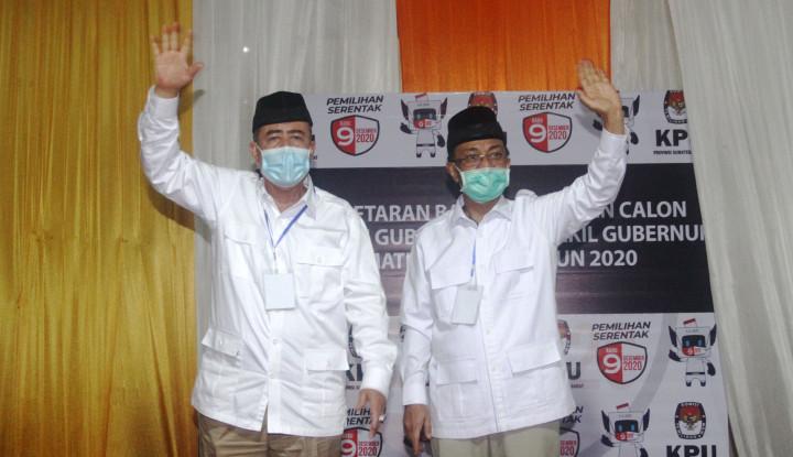 Pilgub Sumbar, Nasrul Abit-Indra Catri Percepat Daftar ke KPU
