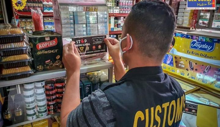 Operasi di 3 Daerah Berhasil Amankan 2,7 Juta Batang Rokok Ilegal