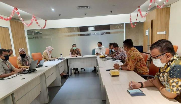 Panitia Pusat HPN 2021 Sowan ke Kominfotik Pemprov DKI Jakarta