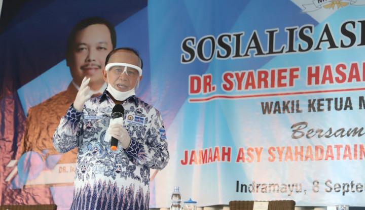 Syarief Hasan: Harus Dibangun Exit Tol Langsung ke Indramayu