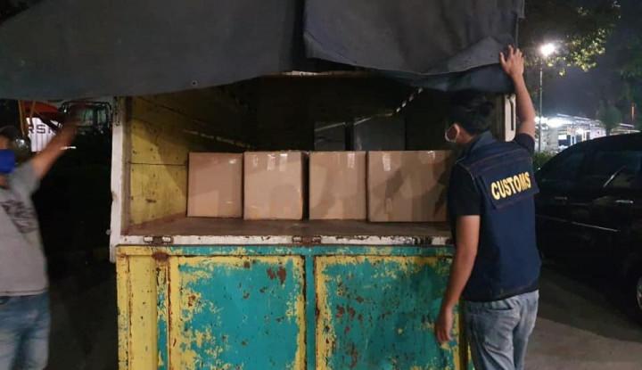 Bea Cukai Banten Gagalkan Peredaran Rokok Ilegal