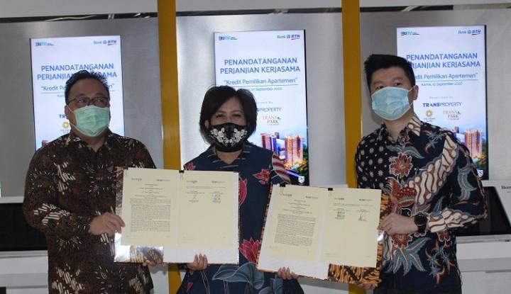 BTN Gandeng Trans Property Tawarkan KPA Diskon 50%